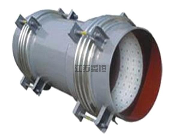 徐州電廠煤粉管道貼陶瓷補償器